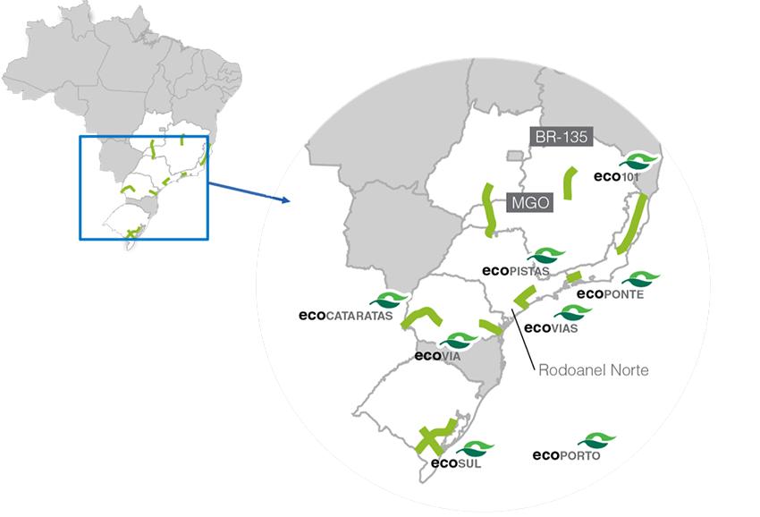 Network autostradale Brasile, ASTM