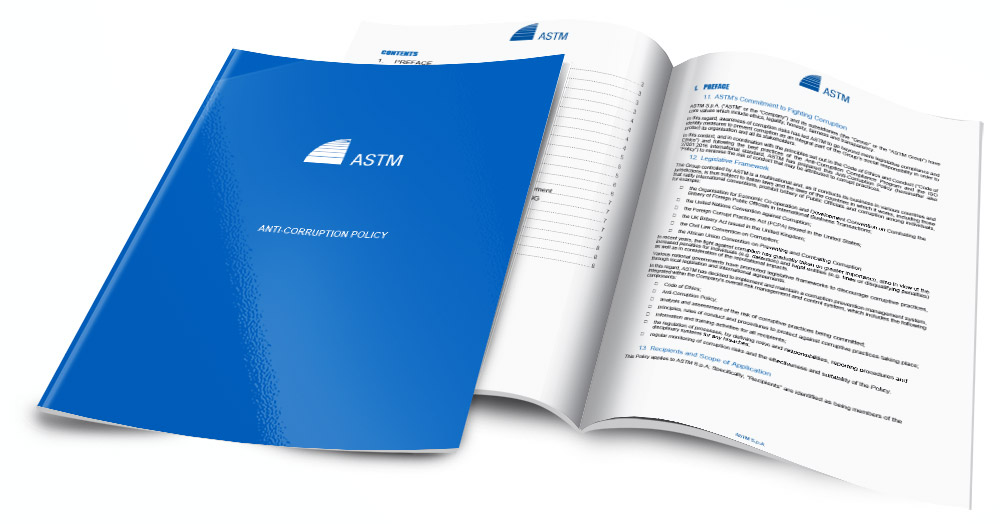 ASTM Anti Corruption Policy