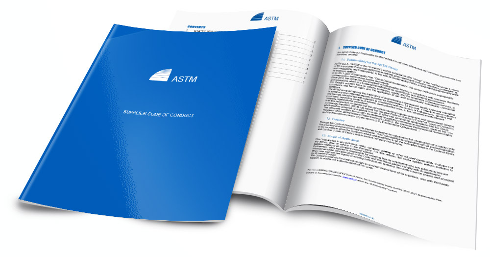 ASTM Supplier Code of Conduct